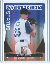 2011 PANINI ELITE EXTRA CHRIS REED ROOKIE CARD RC P-37 ~ 100/100 UNIQUE STANFORD
