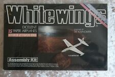 WHITE WINGS 15 Excellent Paper Airplanes (Vol 5) History of Jet Fighters Series