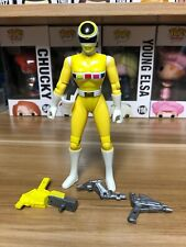 Mighty Morphin Power Rangers In Space Action Figure Yellow Ranger
