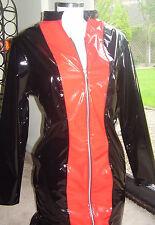 Clubwear Long Sleeve Short/Mini PVC Dresses for Women
