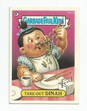 Take-Out Dinah 582a Garbage Pail Kids GPK Original Series 15 Card 1988