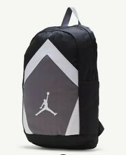 Nike Jordan Diamond Backpack Black /Grey /White Jumpman Laptop Bag 9A0262023 NEW