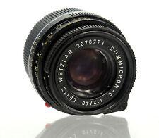 Leica Leitz Summicron-C 1:2/40 Objektiv für Leica M *Made in Germany* - 36780