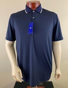MIZUNO Men's Performance Golf Polo Shirt Size L NEW