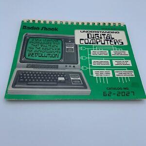 Radio Shack Understanding Digital Computers programmed text TRS-80 vintage book