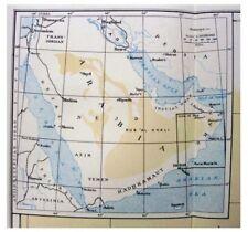 1929 Thomas - RUB AL KHALI - Arabia - WITH COLOR MAP - Pre-Dates Book - 3