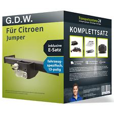 Anhängerkupplung starr für CITROEN Jumper +Elektrosatz NEU