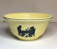 Pantry Bak In By Ware Crooksville Silhouette Mixing Bowl 8 In By 3 7/8 In Vtg