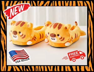 Smoko Heated Tiger Slippers- NEW