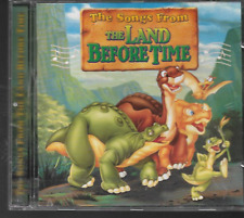 THE SONGS FROM THE LAND BEFORE TIME CD SING ALONG ALBUM 1997 10 TRACKS GOOD