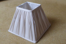 Small Ivory/Cream coloured Lined Lampshade (20cm x 20cm base)