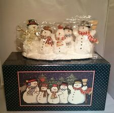 Five Festive Snowmen by Susan Winget NEW IN BOX Lang and Wise 1ST EDITION #3