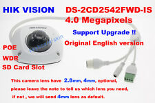 Hikvision Original English DS-2CD2542FWD-IS 4MP CCTV IP POE Network Dome Camera