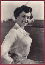 RUTH ROMAN 10 ATTRICE ACTRESS ACTRICE CINEMA MOVIE Cartolina VIAGGIATA 1954