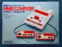 Family Computer Famicom AV Mod Console System w/Box Japan FC Nintendo