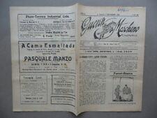 Guerin Meschino Coloniale Anno 8 N.480 San Paolo Brasile 3/9/1922 Emigrazione