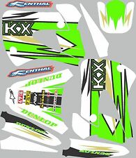 Graphics for 1998-2013 Kawasaki KX85 KX 100 KX 85 KX 100 Decal fender shrouds