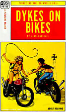 Dykes on Bikes - 1968 - Pulp Novel Cover Poster