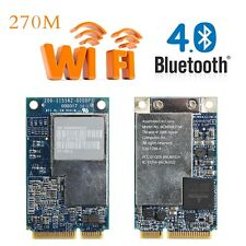 2.4G+5G 270M Wifi Wireless Mini PCI-E Card For Apple Macbook BCM94321MC 661-3874
