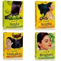Hesh Herbal Hair Care Kit: 100g Amla, Brahmi, Shikakai, Aritha Powder