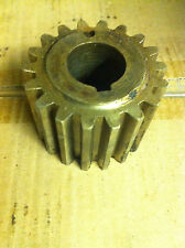 1 x Hobart 80qt mixer beater shaft brass pinion Gear Spares vat inc in price