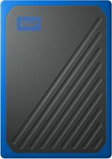 WD - My Passport Go 1TB External USB 3.0 Portable Solid State Drive - Black/C...