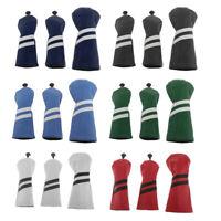 Headcover-Set - Golf Schlägerhaube Driverkopfhüllen für Holz Driver bis 460