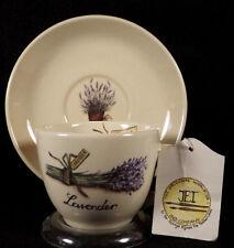 Jet and Company Demitasse Cup Saucer Lavender Ter Steege Ryssen Netherlands