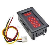 """Red 0.36""""  LED 5 Digit DC 0-33.000V Digital Voltmeter Voltage Meter Car Panel W"""