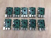 Lot of 10: Raspberry Pi 3 Model B | Quad Core 64-Bit 1GB WiFi Motherboard PC