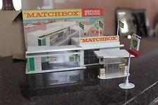 Matchbox  Service station MG1  & Mint Original Box ...EXCELLENT CRISP BOX!!!!