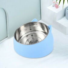 New listing 8″ Round Stainless Steel Cat Dog Pet Bowl Non Slip Puppy Food Water Feed Dish