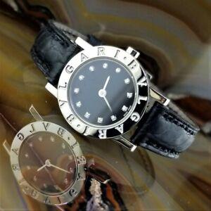 All ORIGINAL Womens BVLGARI Bulgari Diamond Watch BB23SL/12