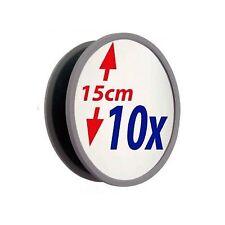 Miroir grossissant x10 incassable 15cm - Neuf