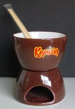 KAHLUA CERAMIC BOWL w/Heating Base - Collectible/Rare