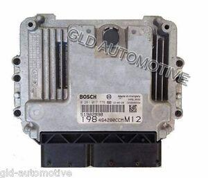 Centralina Motore BOSCH 0281016236 51853781 Servizio di Riparazione