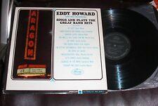 EDDY HOWARD & ORCHESTRA Aragon Sings & Plays Great Band Hits EX Mercury AT LAST