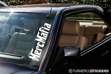 2x  'Merc Mafia' car Windscreen 500mm stickers / Decals