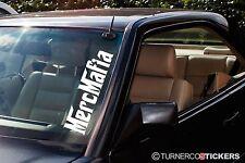 2x  'Merc Mafia' car Windscreen 500mm stickers / Decals