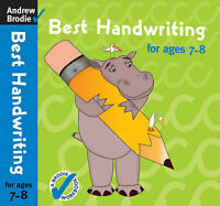 Best Handwriting for Ages 7-8 by Brodie, Andrew (Paperback book, 2007)