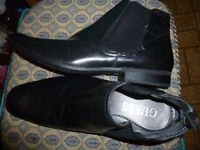 Guess  Men's Size 11  Black Ankle Boots Shoes