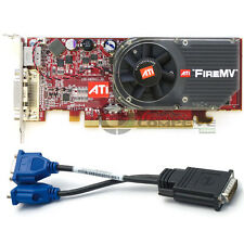 ATI FireMV 2250 Multi-view PCI-E x16 256MB Low Profile Graphics Card 102A9240730
