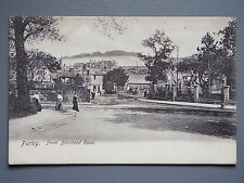 R&L Postcard: Purley from Banstead Road, Edwardian Scene, Frith