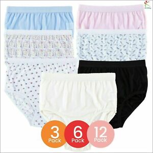 Ladies Girls Full Brief 100% Cotton Womens Underwear Knickers Lingerie Maxi Pant