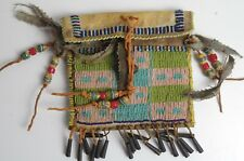 Vintage Native American Beaded Medicine Bag - Sioux Lakota
