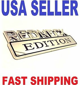 REDNECK EDITION HIGH QUALITY car truck old PEERLESS EMBLEM logo decal SIGN badge