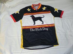 Men's XL The Black Dog Martha's Vineyard Louis Garneau Cycling Jersey