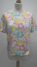 Bright Spring Coloured Flowered Top from Atmosphere size 12