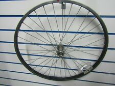 "mountain bike Alloy Front Wheel used black Bicycle 26"" vuelta scout"