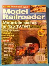 Model Railroader Magazine 2012 August Mountain scenes Farm structure scratchbuil